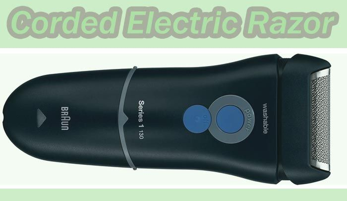 Electric Foil Shaver Corded Electric Razor